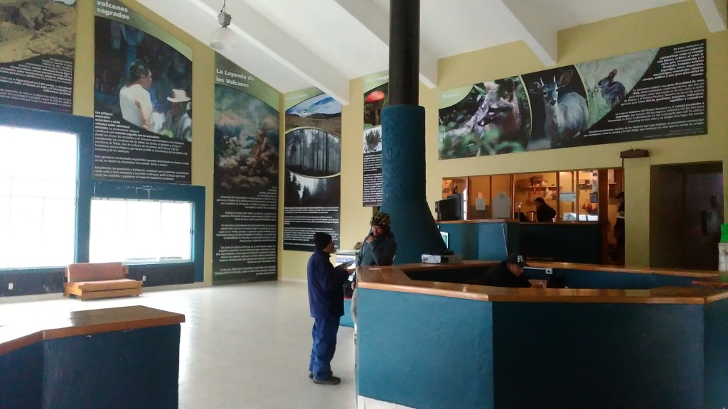 The information Center at the Paso de Cortes (Pass of Cortes, Mexico)
