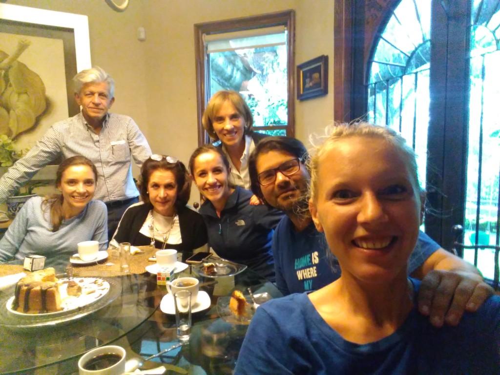 Mariana's family