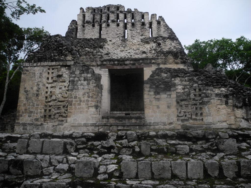 Maya ruins in Campeche