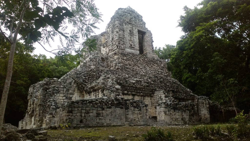 Xpujil Archeological Maya site