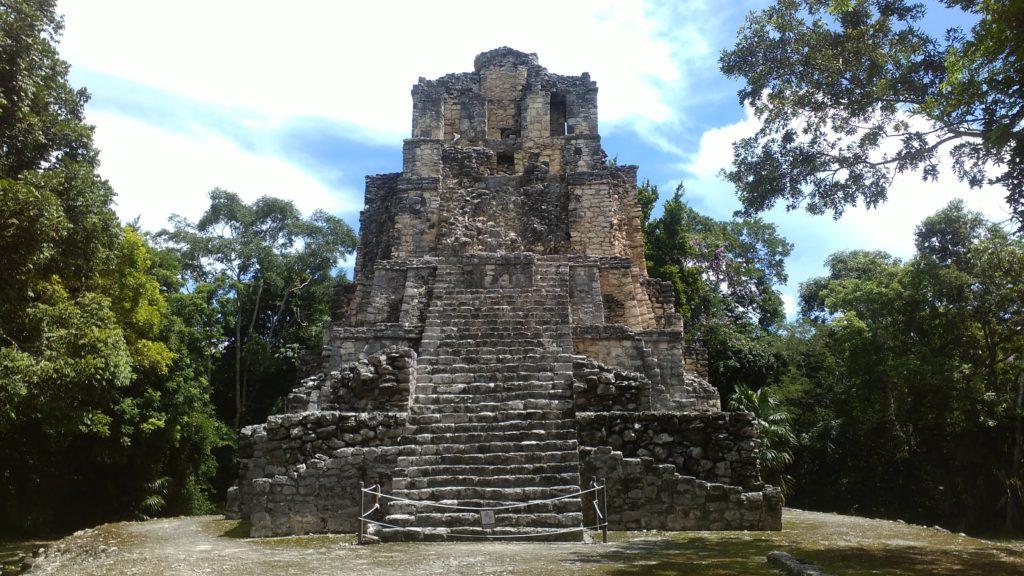 Muyil Maya ruin