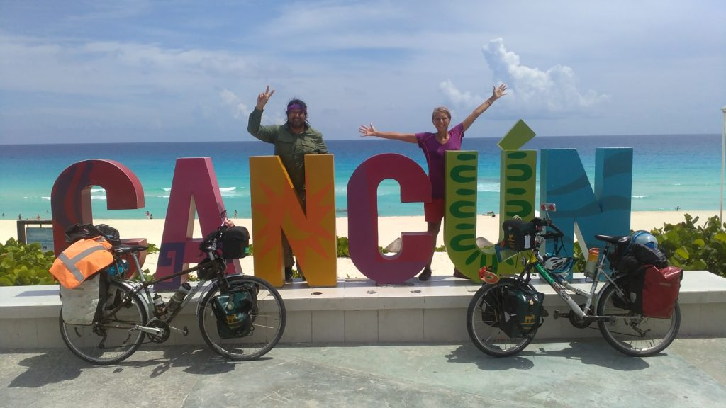 Annika and Roberto in Cancún