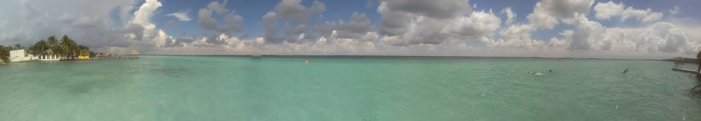 Perfectly turquoise water