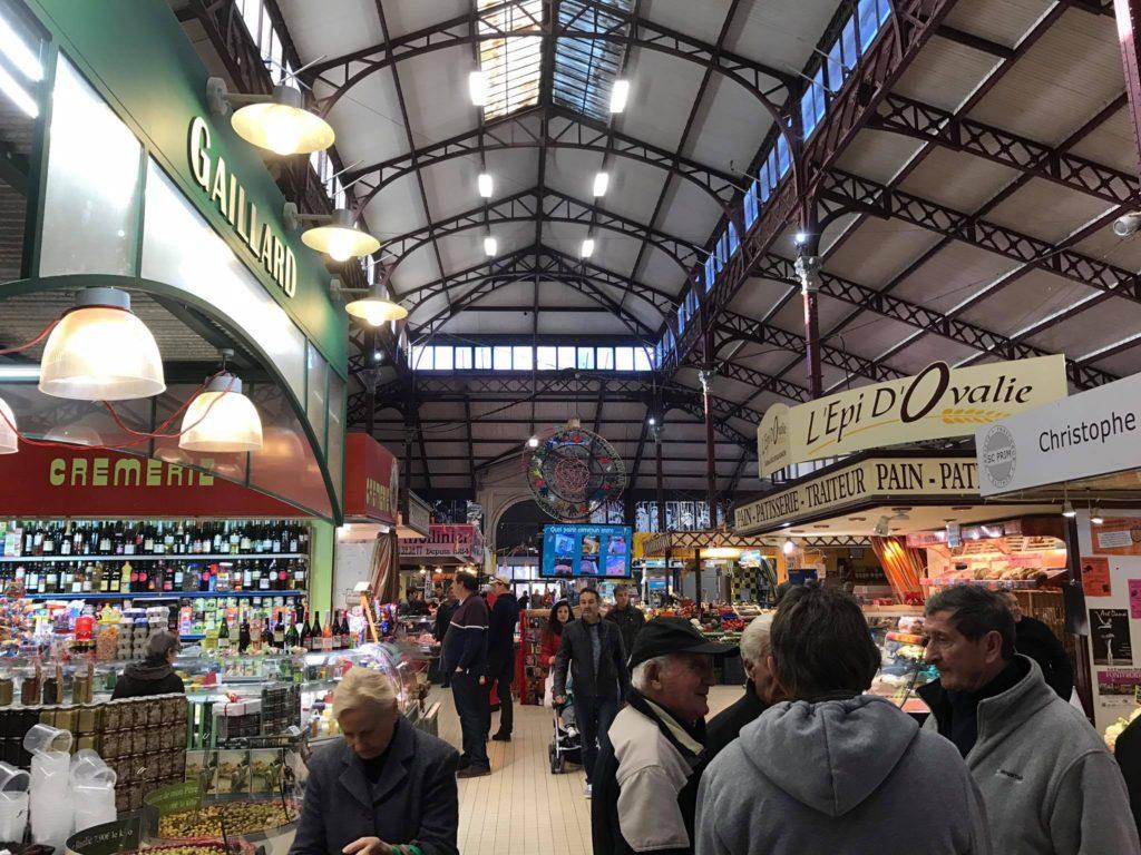 Market in Narbonne, France