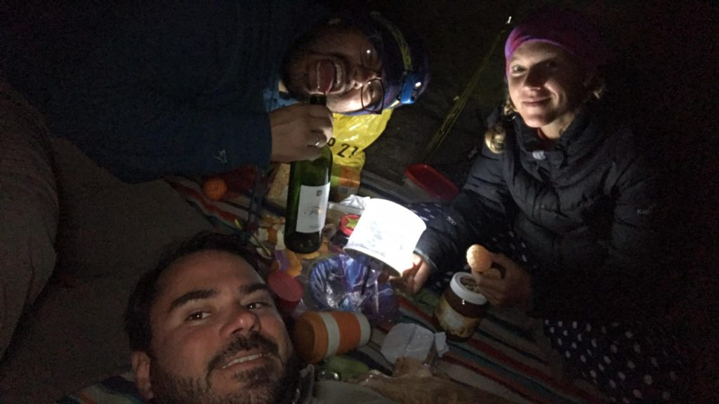Camping Dinner Party