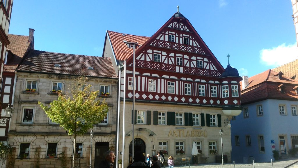 Kronach, Oberfranken, Bayern.