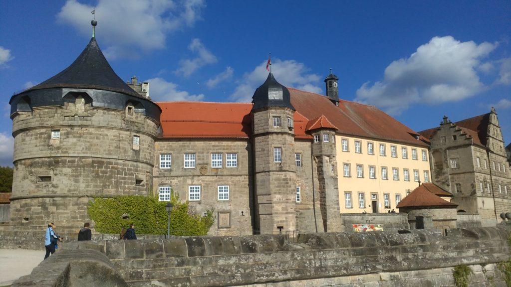 Blick auf die Festung Rosenberg in Kronach