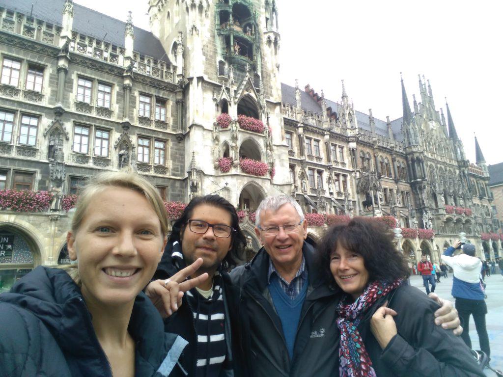 Bummel mit der Familie durch München