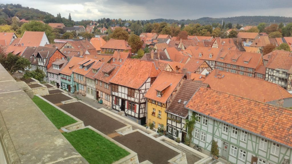 Quedlinburg near the Harz mountains
