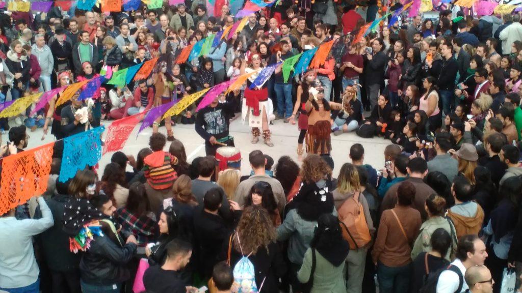 Festival zum mexikanischen Tag der Toten.