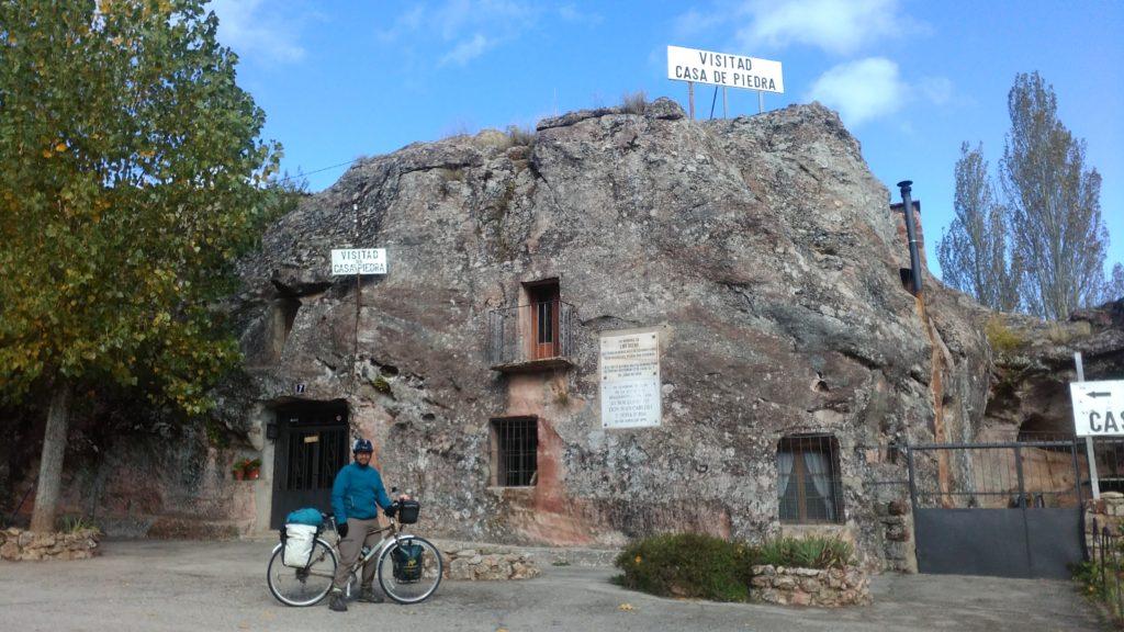 Historisches Steinhaus in Alcolea del Pinar