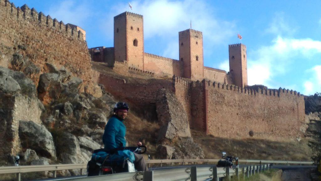 Die Burg von Molina de Aragón