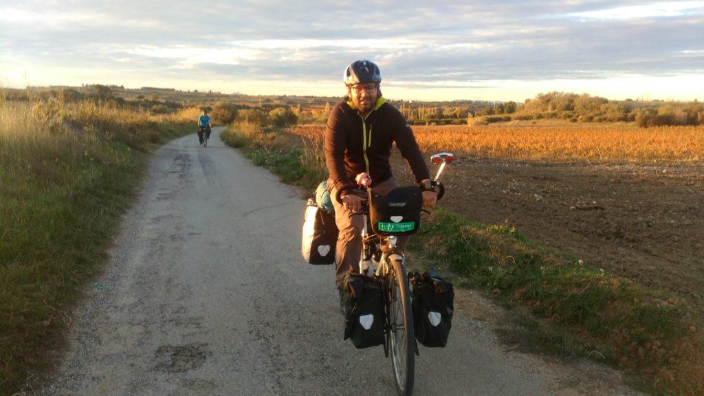 Roberto cycling southern France