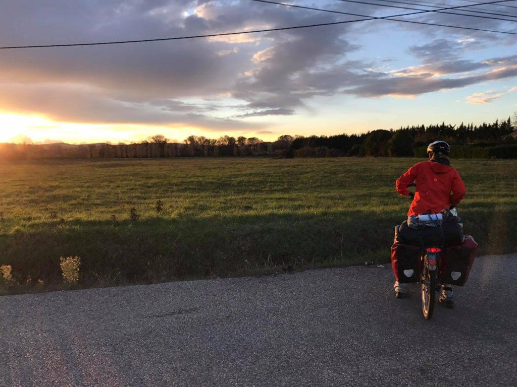 Cycling the Via Rhona
