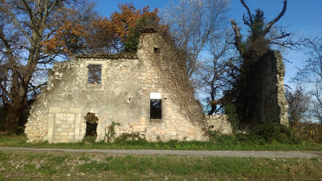 Old ruin in France