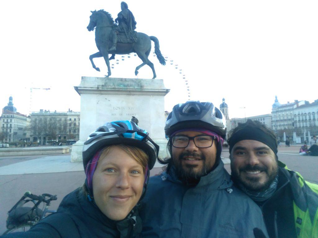 Annika, Roberto and Diego in Lyon