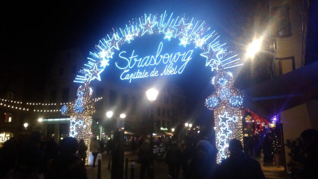 Straßburg Weihnachtsmarkt