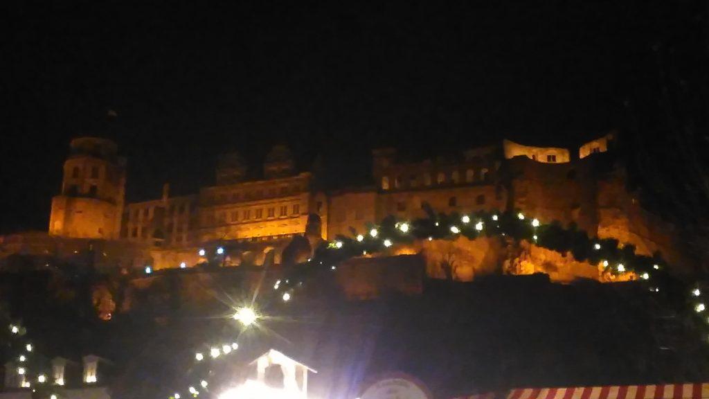 Weihnachtliche Stimmung in Heidelberg