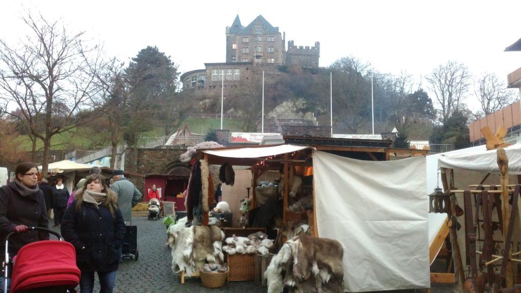 Mittelalterlicher Weihnachtsmarkt in Bingen